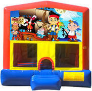 Jake & the Neverland Pirates Bounce House