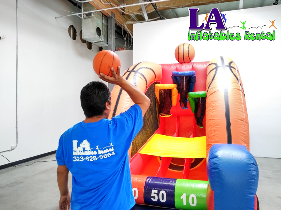 Basketball Shooting Game Rentals Los Angeles