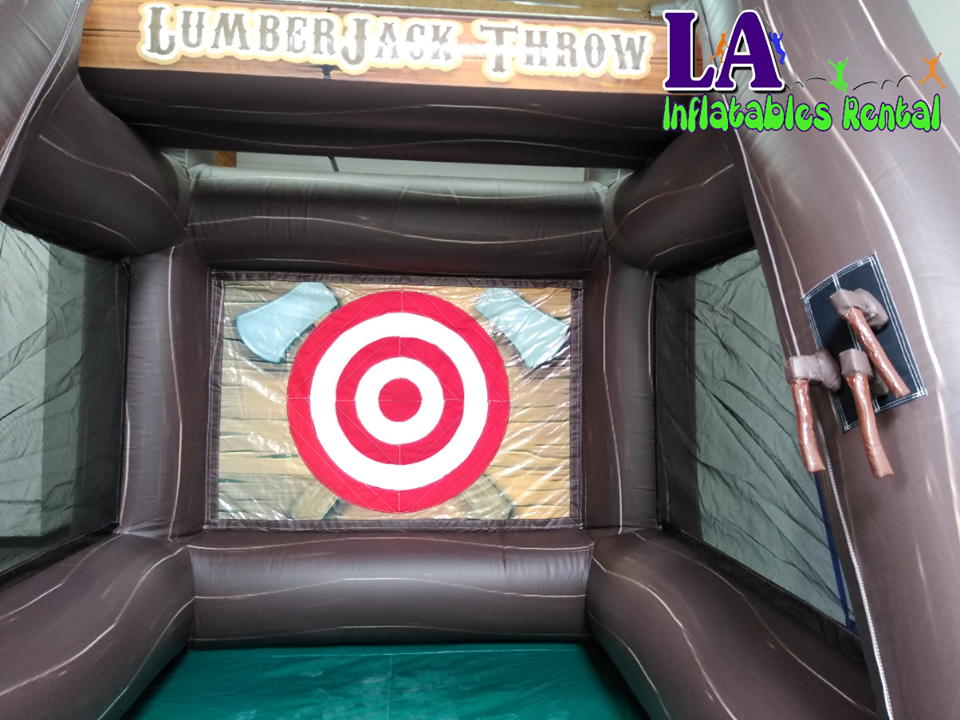 Interactive Games Rentals Los Angeles Axe Game Rental