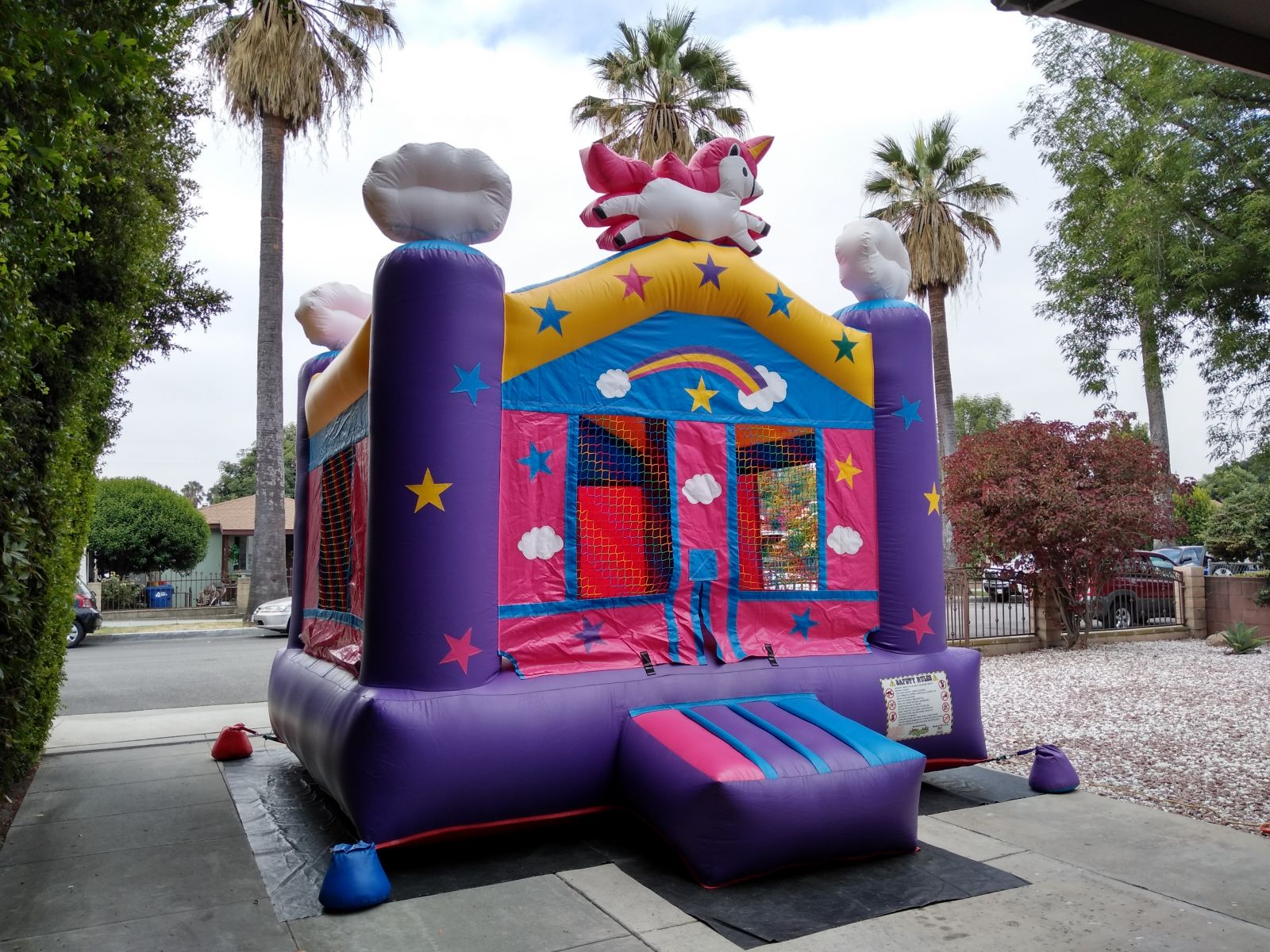 Los Angeles Unicorn Bounce House Rentals