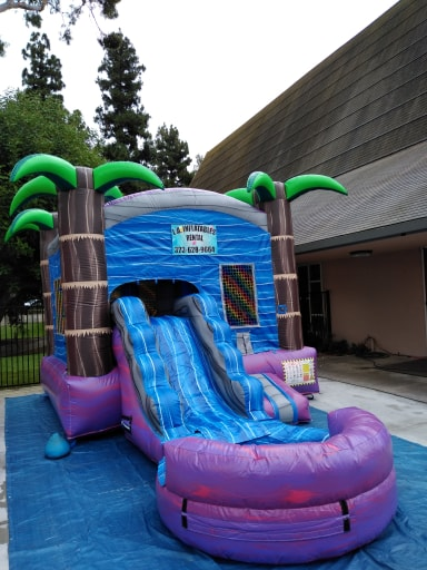 Tropical Combo Water Slide Rental Los Angeles