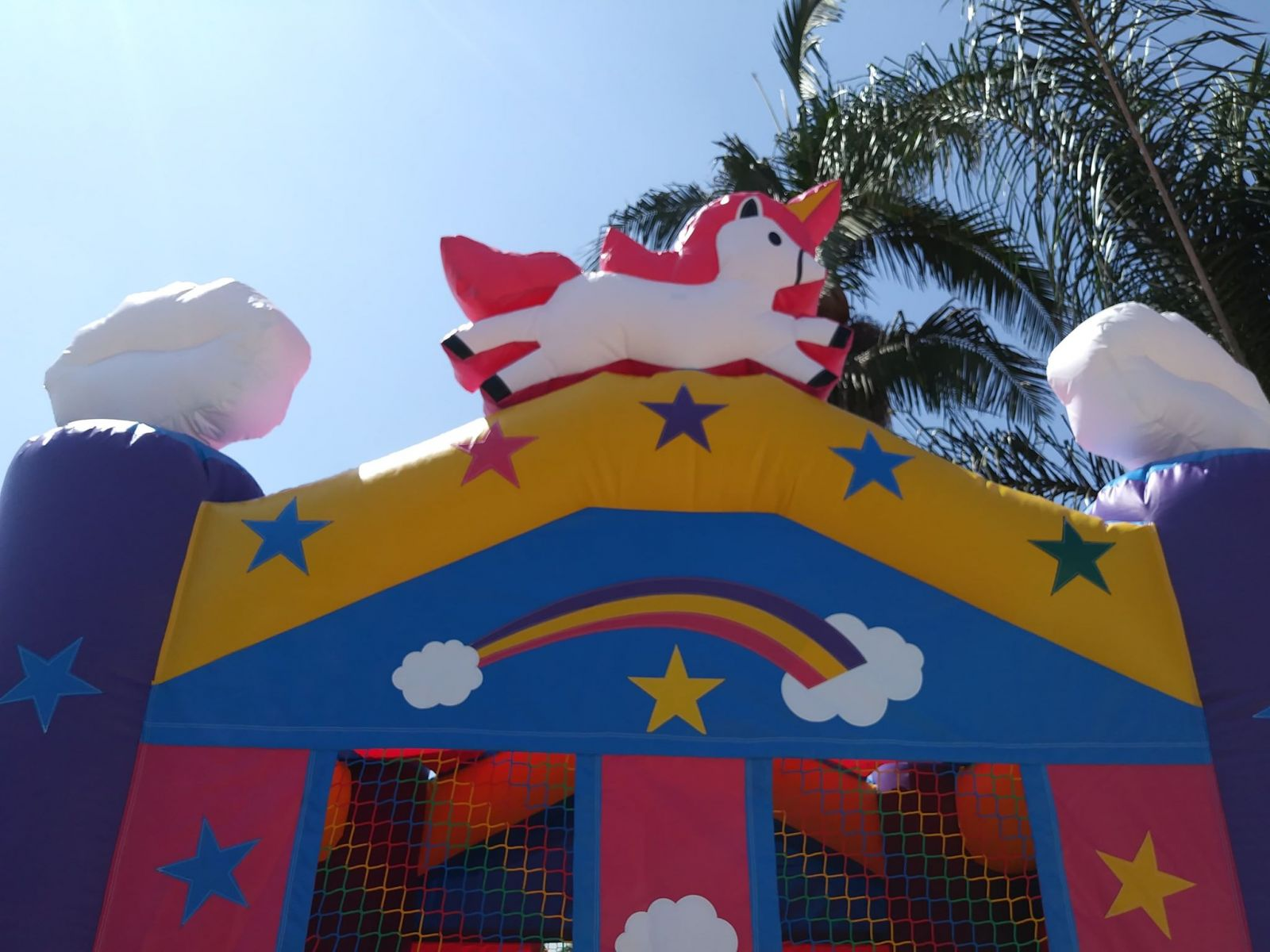 Los Angeles Unicorn Bounce House Party Rentals