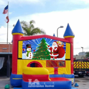 Christmas Combo Bounce House 5in1