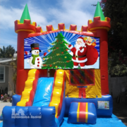 Santa Castle Combo Jumper 4in1