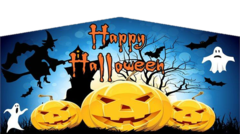 Halloween Spooky Night Banner