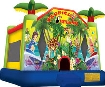 Tropical Island Jumper (13'x13') 1701