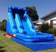 Blue Waterslide (16'H)