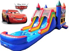 Disney Cars Bounce & Double Slide Combo