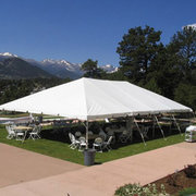 Tent: 30ft x 50ft
