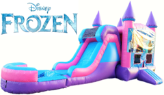 Frozen Bounce House and Water Slide