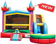 Lucky Bounce House & Slide Combo w/Pool