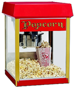 Popcorn Machine with 50 Free servings