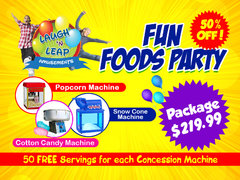 Fun Foods Party Package