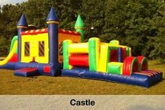 Water Pool Attachment for Castle Obstacle