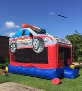 Police Car Bounce House