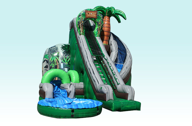 27 Ft Coconut Falls Water Slide