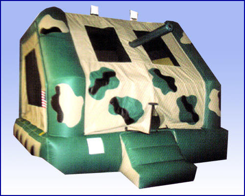 Army Tank Bounce House