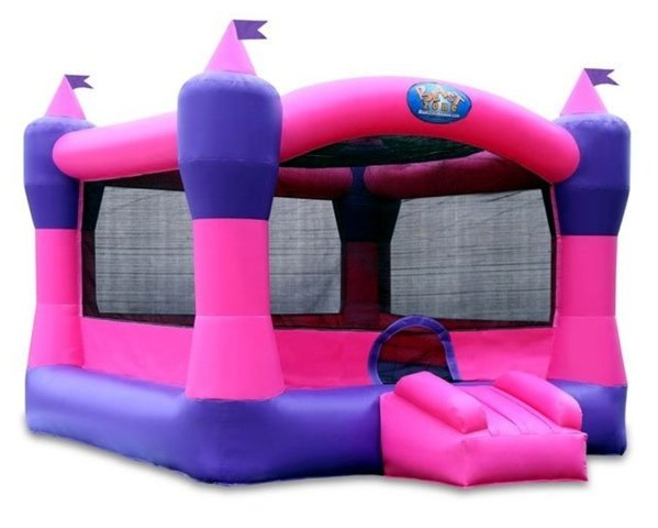 Pink and Purple Bounce House Arena