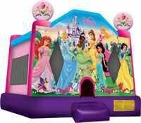 Disney Princess Full Face Bounce House