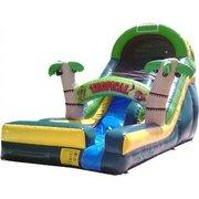 18 Ft Tropical Slide
