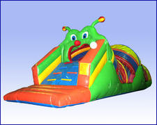 Caterpillar Craze Obstacle Course