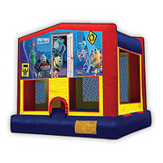 Monsters Inc. Bounce House