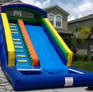 18 Ft Water Slide w. Pool (New)