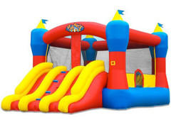 Mini Combo Bounce House Slide