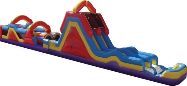Monster Obstacle Water Slide