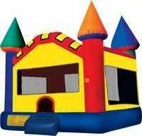 Multi Color Bounce House