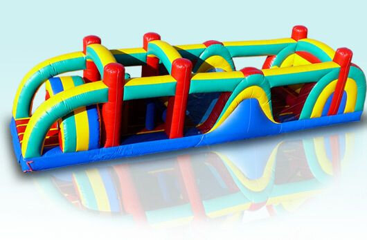 38' Multicolor Obstacle Course