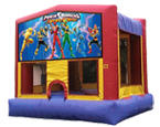 Power Rangers Bounce House