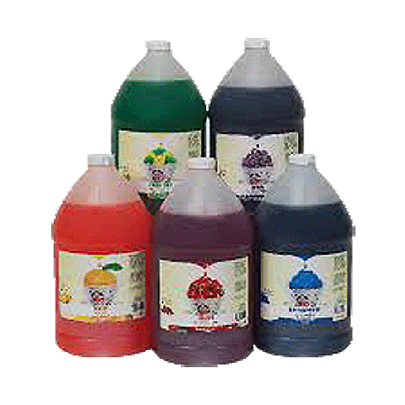 Snow Cone Syrup  1 gallon   Aprox.128 servings
