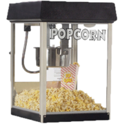 Popcorn Machine Black  4oz