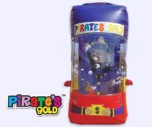 Pirate's Gold Money Cash Catch Machine