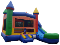 Castle Bouncer/Slide Combo