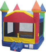Large Rainbow  Bounce House