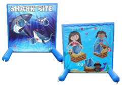Shark Toss/ Treasure Hunt Game