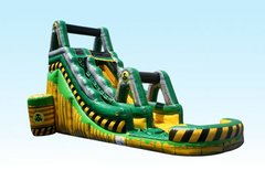 20' Toxic Rush Wet/Dry Slide