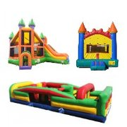 Package C-Dynamic Combo, Obstacle Course and Castle