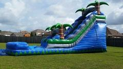 Waterslide Blue Tropical
