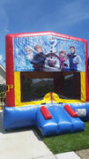 Deluxe Bounce House FROZEN 2-N-1 COMBO Blue