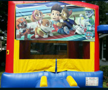 Deluxe Bounce House Paw Patrol 2-n-1