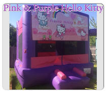 Deluxe Bounce House  Hello Kitty/ Pink