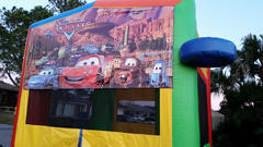 Deluxe Bounce House Cars