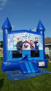 Deluxe Bounce House Frozen/ Blue/