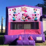 Deluxe Bounce House Minnie Mouse/ Pink/