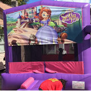 Deluxe Bounce House Sofia the First/ Pink/