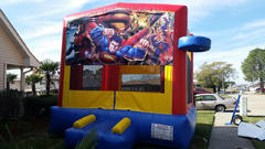 Deluxe Bounce House Superman