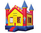 Deluxe Bounce House Prince and Princess Spacewalk